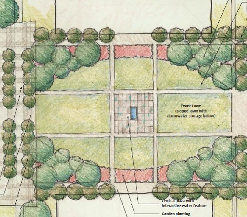 Academic Quad Design for the BAU Permanent Campus