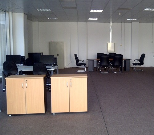 Completed Project Office at the BAU Campus