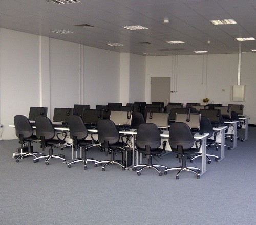 Completed Sample Classroom at the BAU Campus